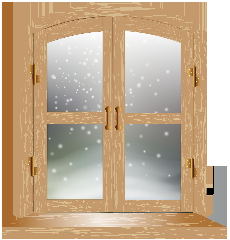 Png clip art image. Winter clipart window