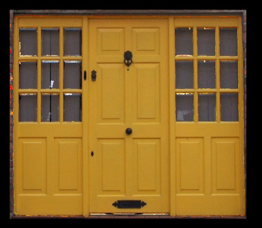Category lamp unique expressions. Door clipart yellow door
