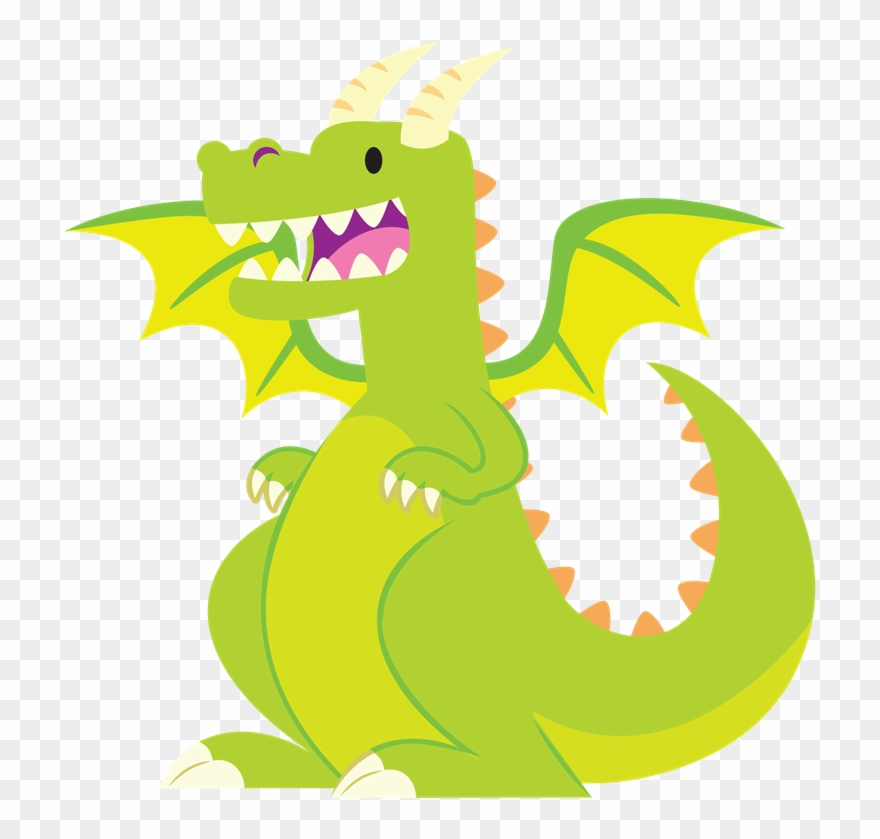 Clipart dragon. Free to use public