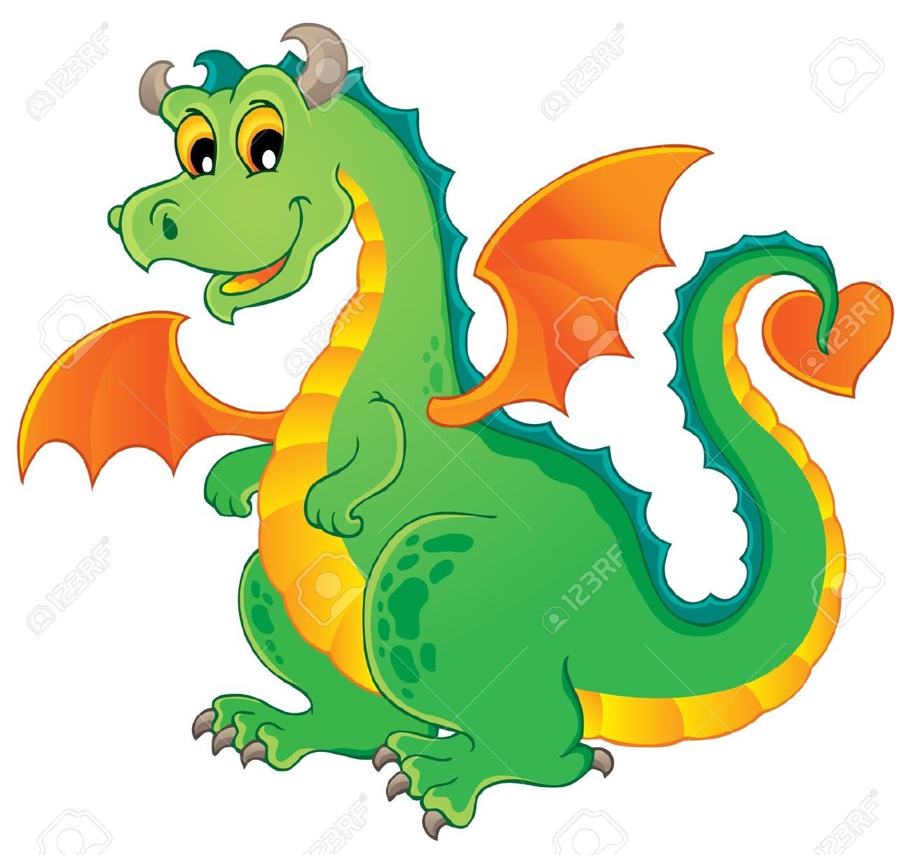 dragons clipartlook. Clipart dragon