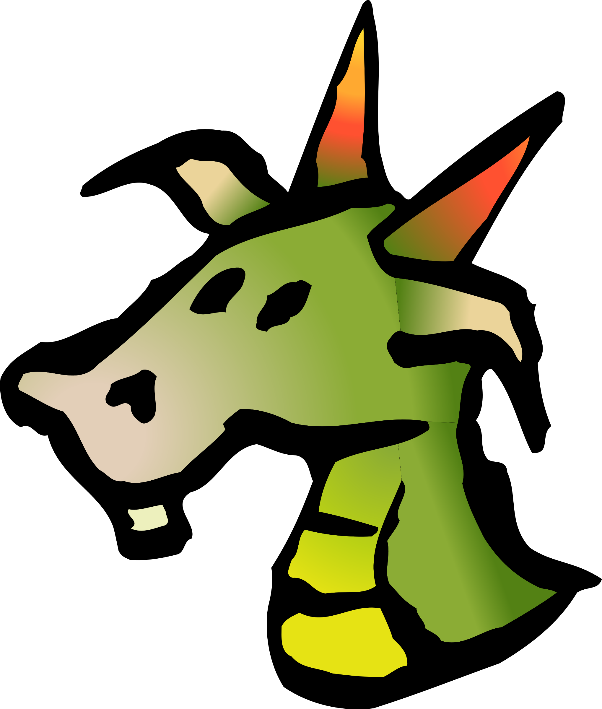 Icon big image png. Mouth clipart dragon