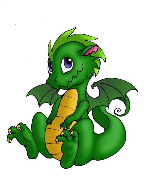 Dragon clipart friendly dragon. Cute pictures best a