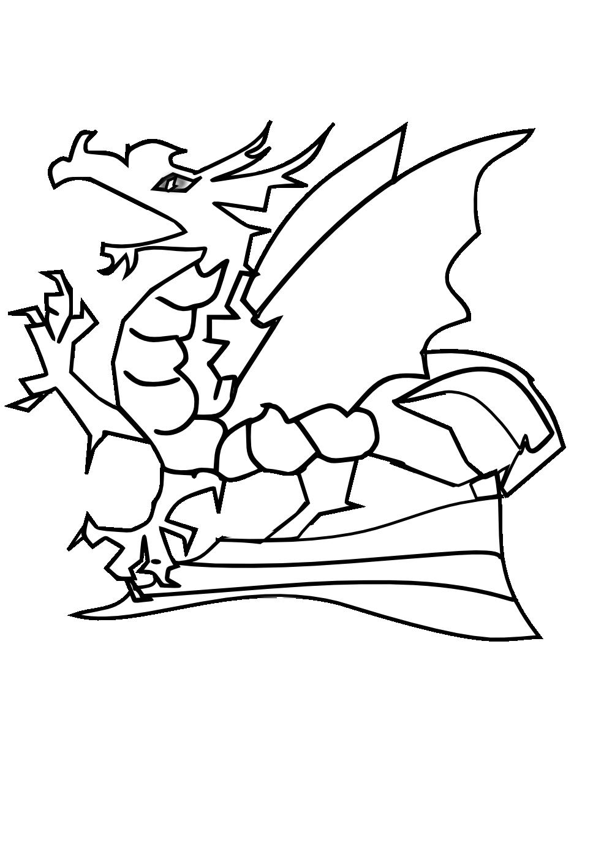 Dragon clipart hydra. Black and white panda