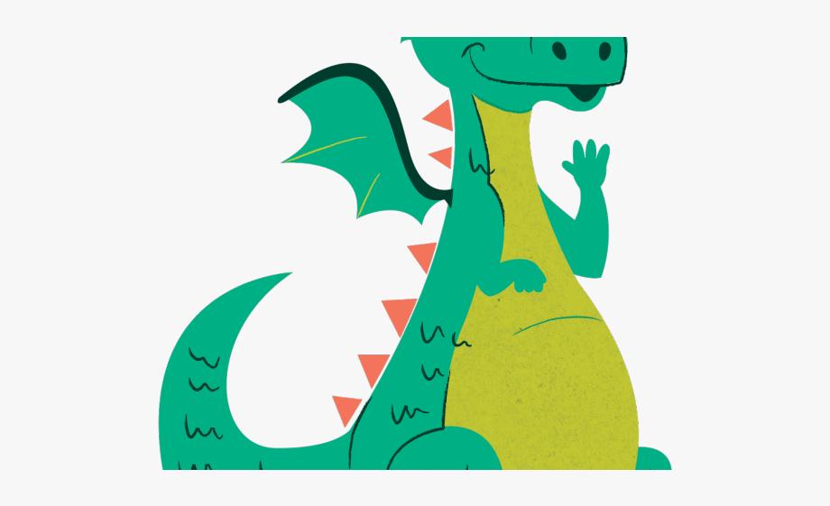 Clipart dragon childrens. Children s graphics kids