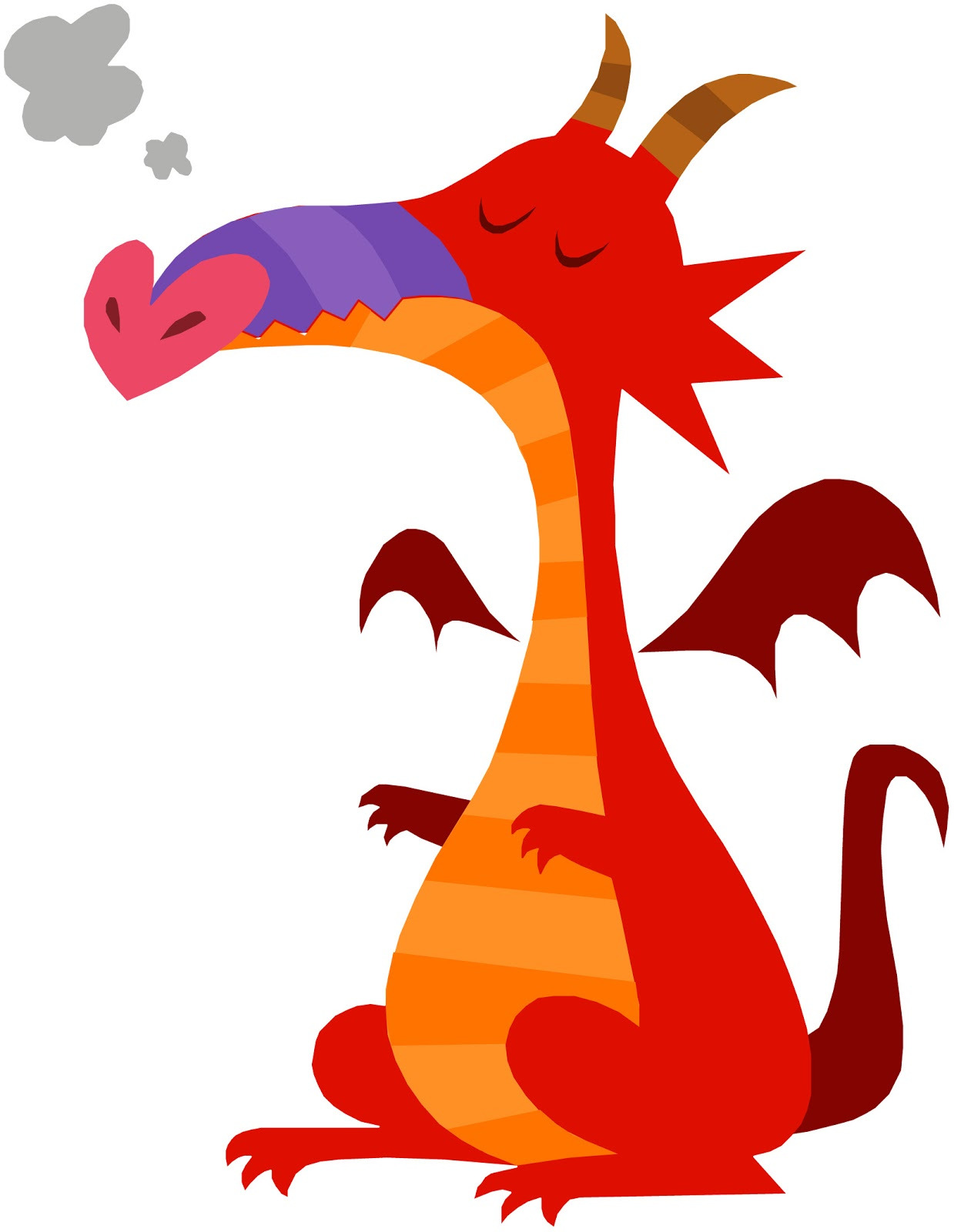 Clipart dragon childrens. Free images for children