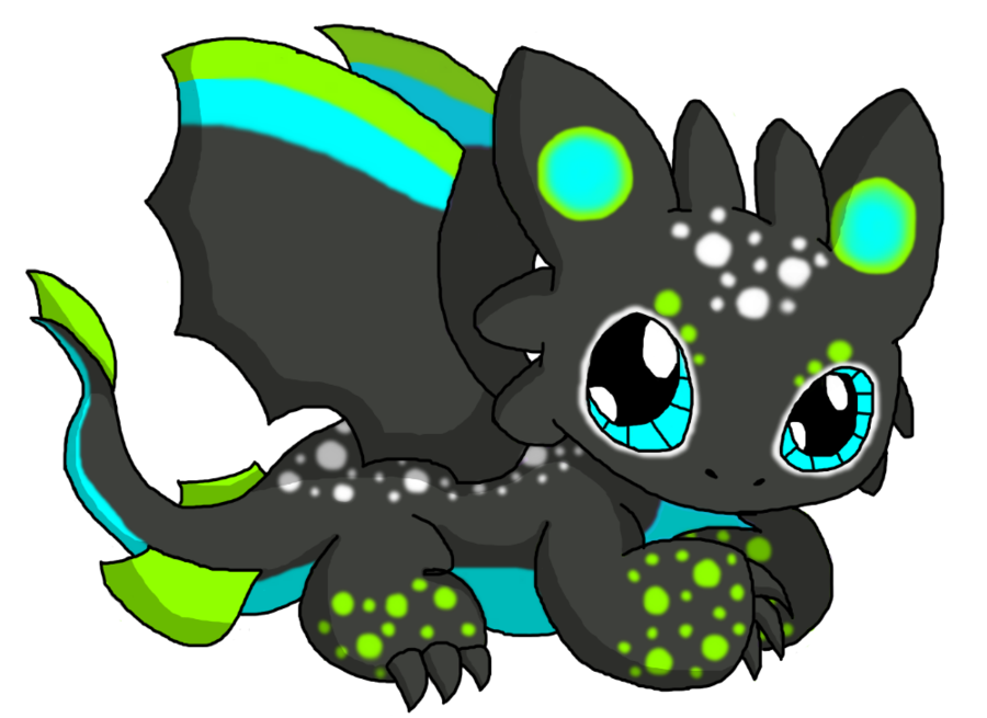 Wing clipart chibi. Dragon unnamed by cliathia