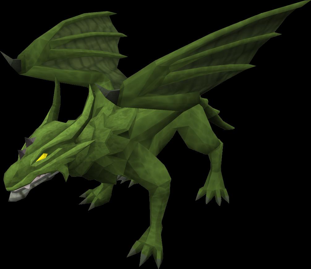 Dragon clipart red dragon. Green runescape wiki fandom