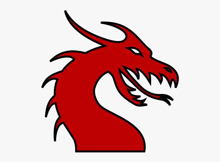 Clip art . Clipart dragon dragon head