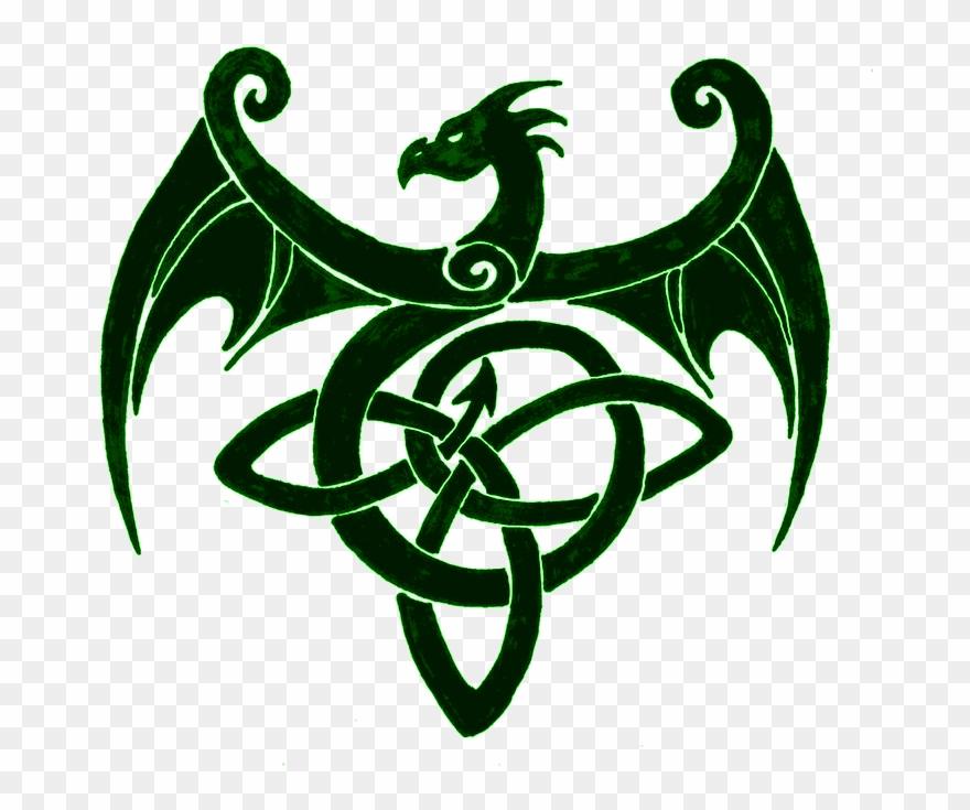 Dragon clipart dragon symbol.  j urw symbols