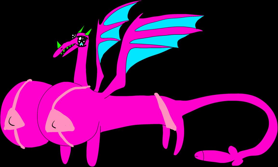 Sugoi female base by. Clipart dragon drogon