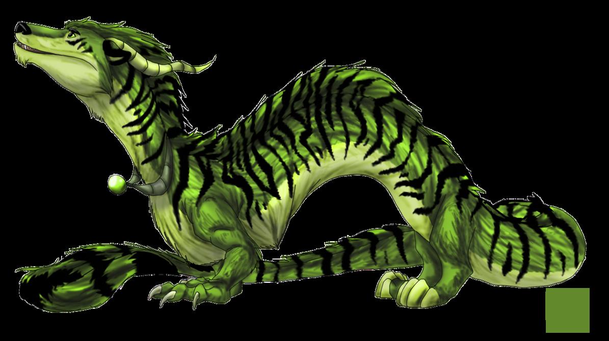 Clipart dragon drogon. Tiger by natsuakai on