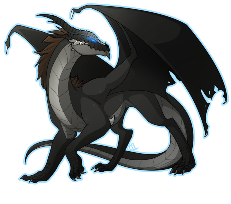 Clipart dragon drogon. Black by lilwolfpard art