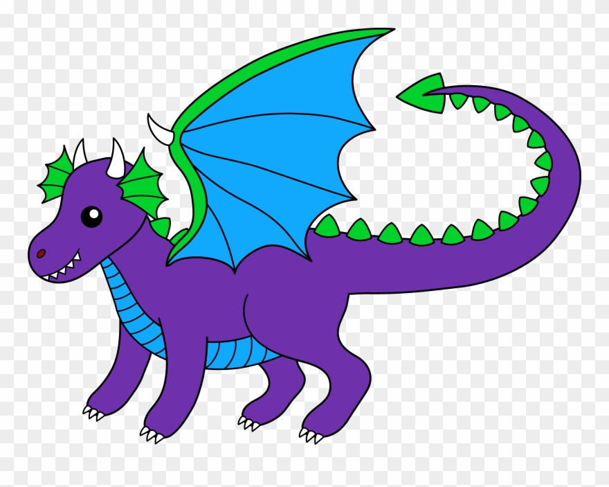 Chinese fairytale png download. Dragon clipart purple dragon
