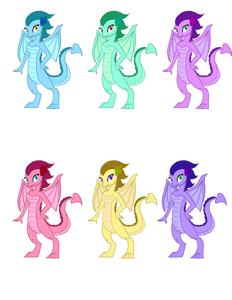 By sweetchiomlp on deviantart. Clipart dragon female dragon