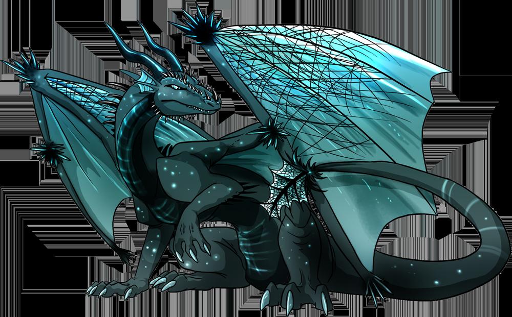Clipart dragon female dragon. Of night by natsuakai