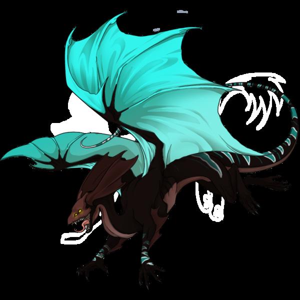 Mirror clipart illustration. Dragon female skin personal
