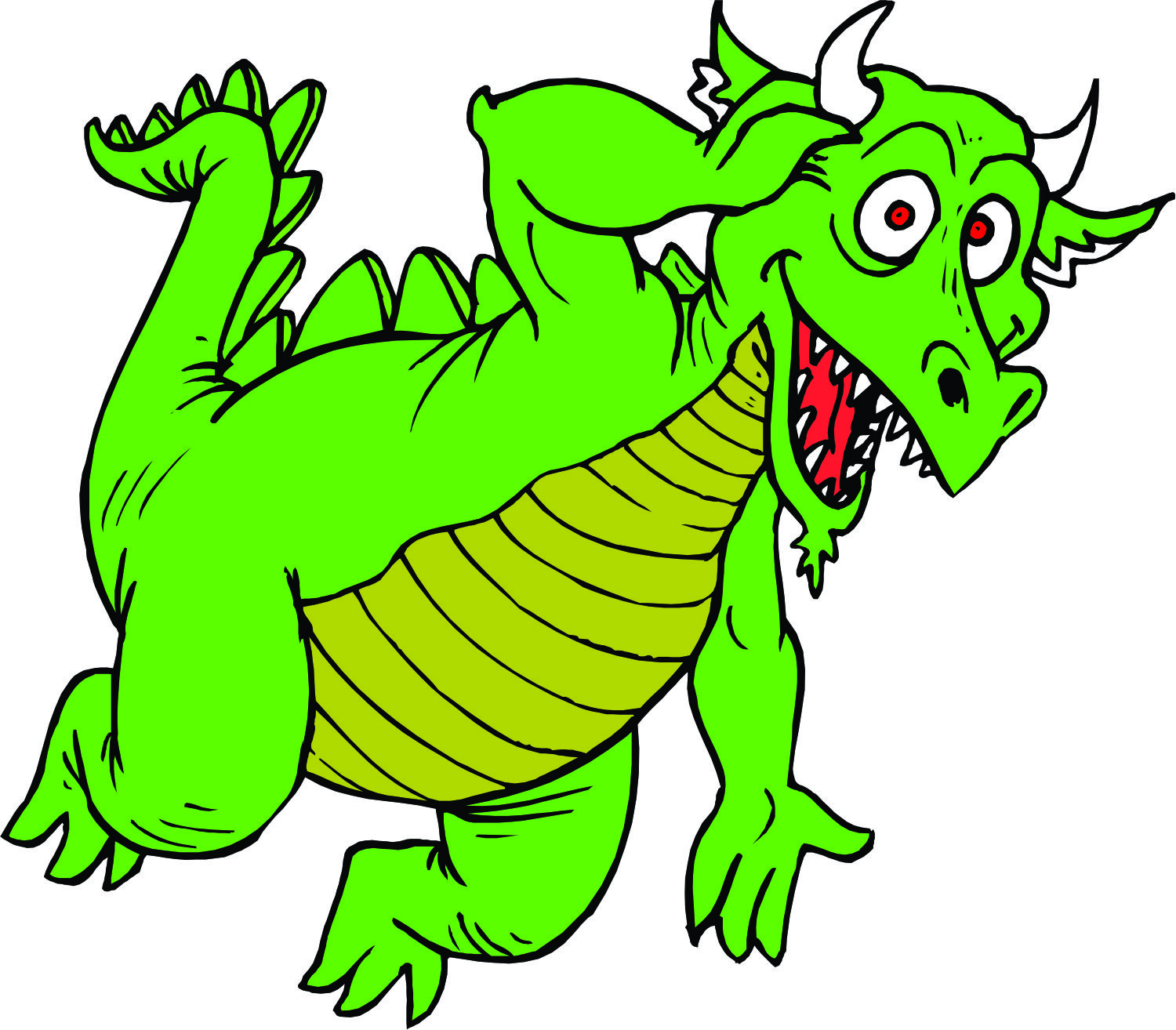 Dragon clipart friendly dragon. Free pictures download clip
