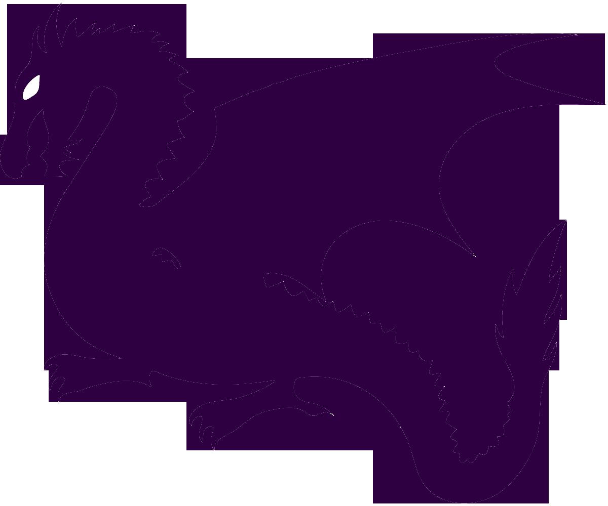 Dragon sad. Clipart transparent free for