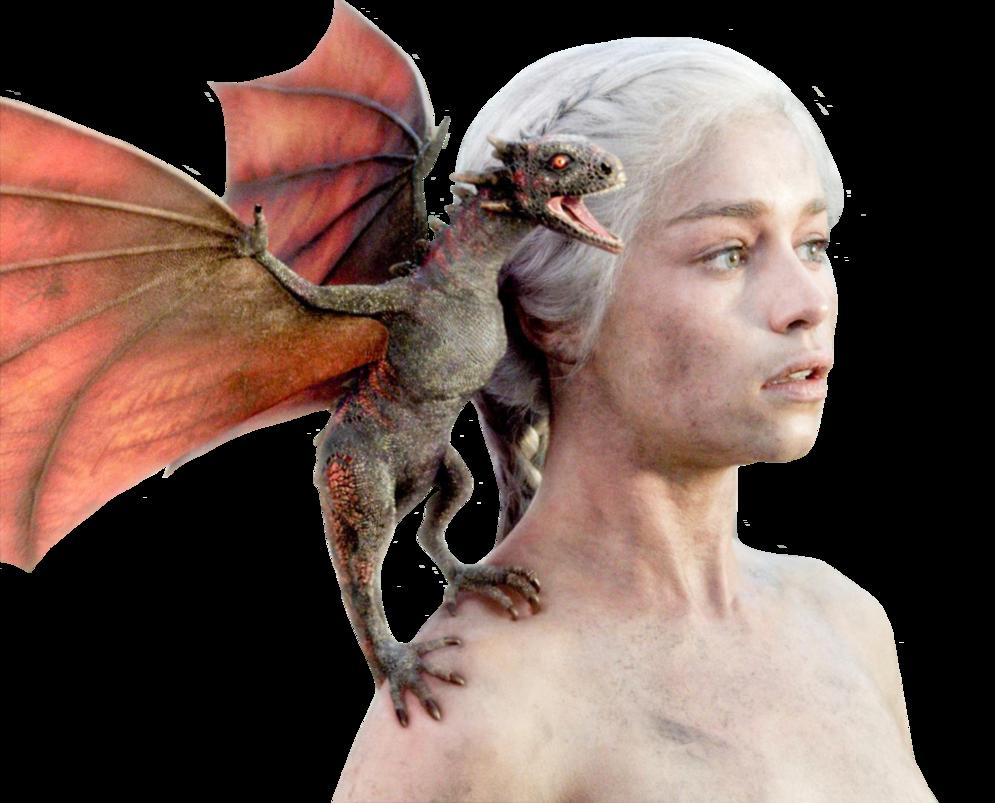 Daenerys targaryen of thrones. Dragon clipart game throne