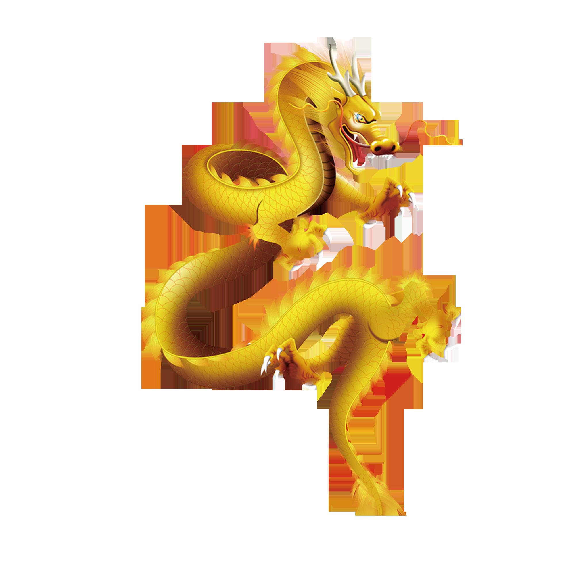 Shenron chinese gold clip. Dragon clipart golden dragon