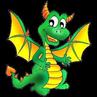 Pin by jennifer worthington. Dragon clipart happy dragon