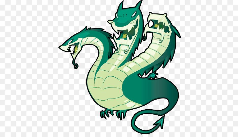 Background transparent clip art. Dragon clipart hydra