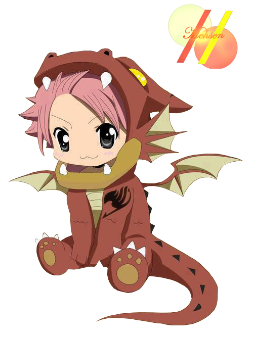 Exercise clipart kawaii. Fairy tail dragon natsu