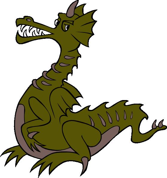 dragon clipart medieval