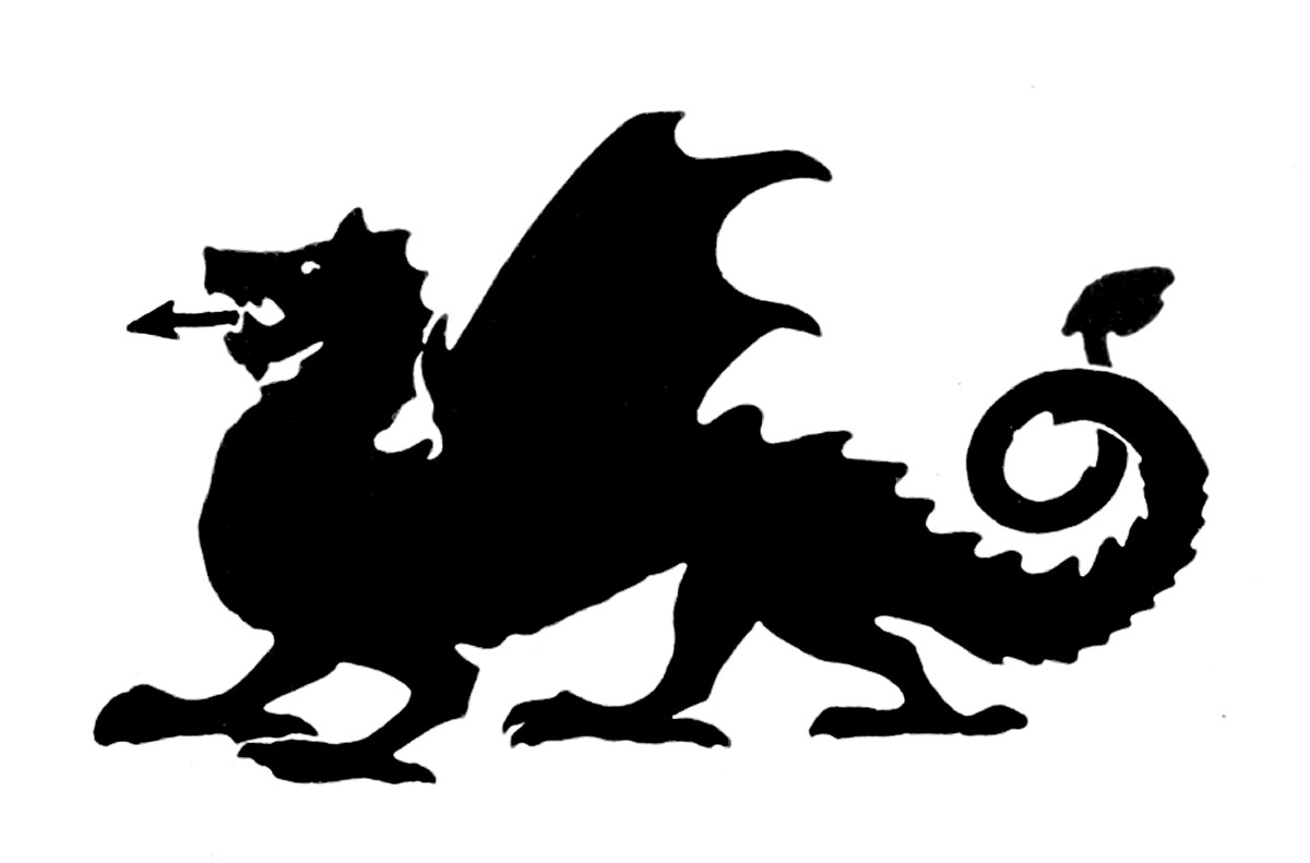 Clip art library . Dragon clipart medieval