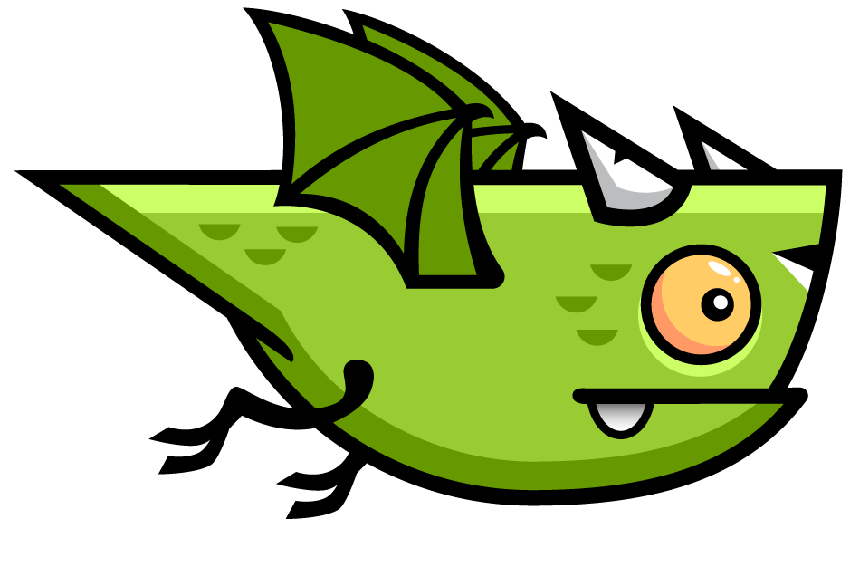Dragon free to use. Clipart fire face