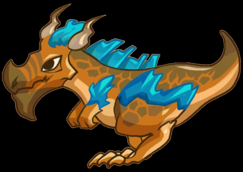 Dragon clipart orange. Rock evolution world wikia