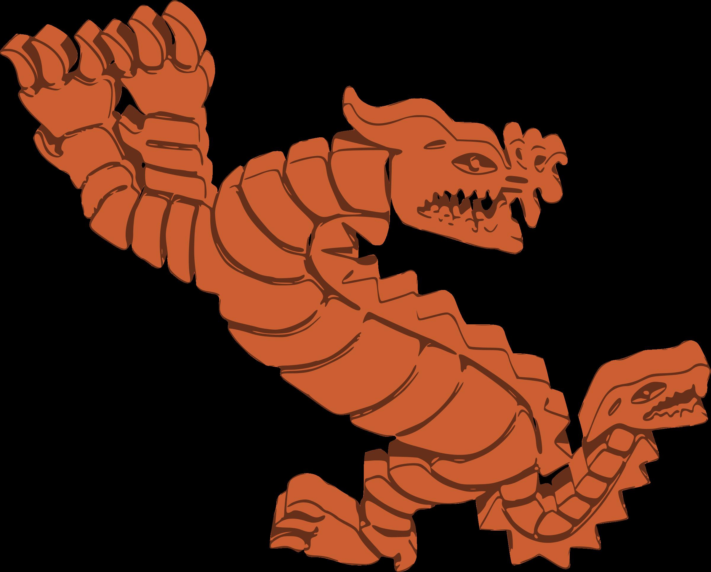 Clipart dragon orange. Peruvian