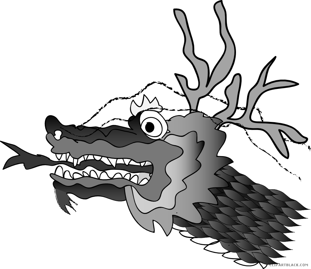 Dragon clipart dragon chinese. Best free liberal clipartblack
