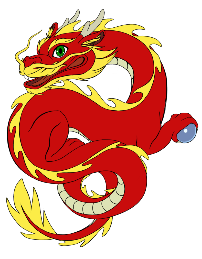 Festival clipart boat chinese. Dragon with pearl cartoon