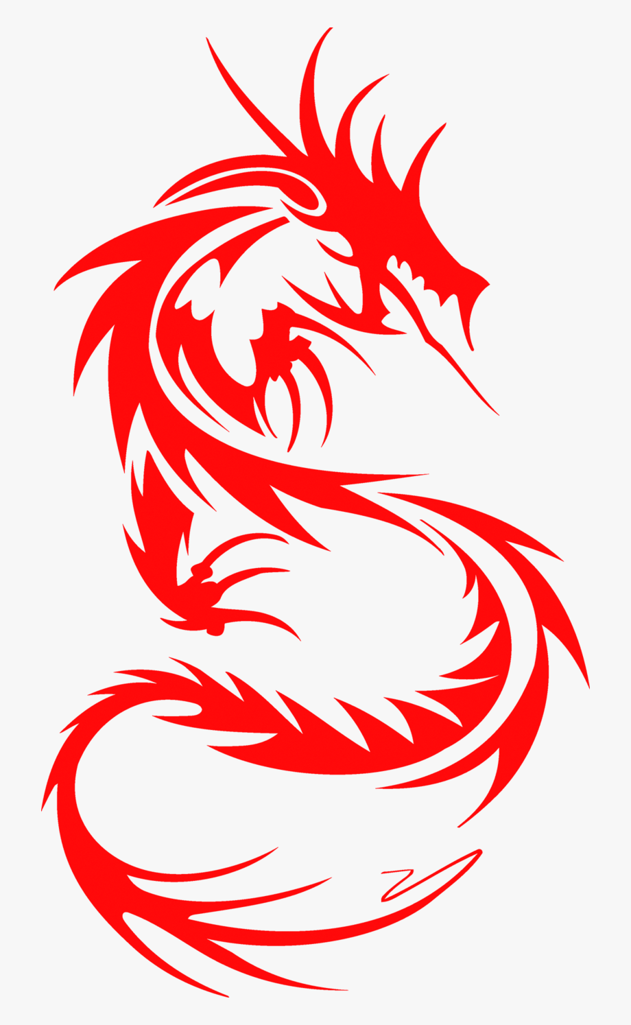 Cut tattoo sleeve chinese. Dragon clipart paper