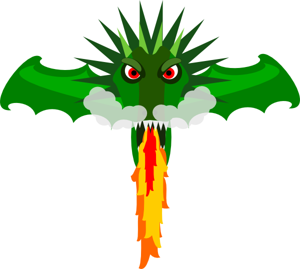 Worm clipart animated. Dragon clip art at