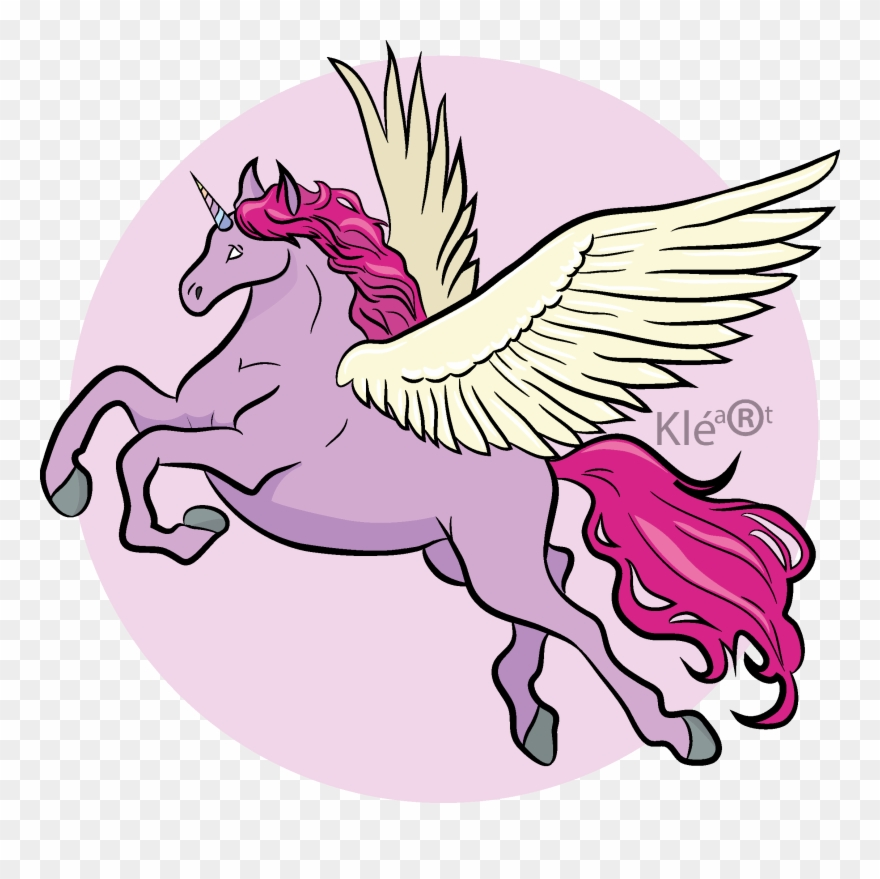 Pink fly png download. Dragon clipart unicorn