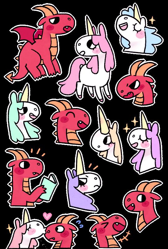 Clipart dragon unicorn. Free on dumielauxepices net
