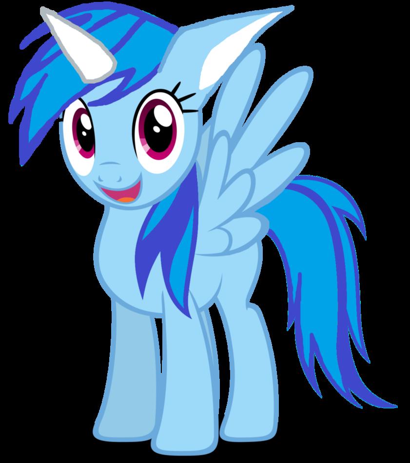 Rainbow wind the hybrid. Clipart dragon unicorn