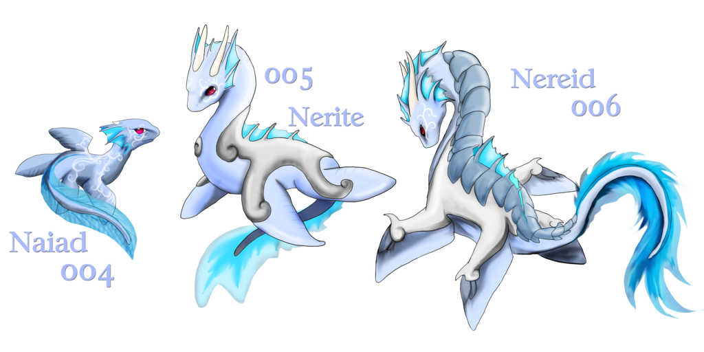 Tired clipart dragon. Old fakemon water dragons