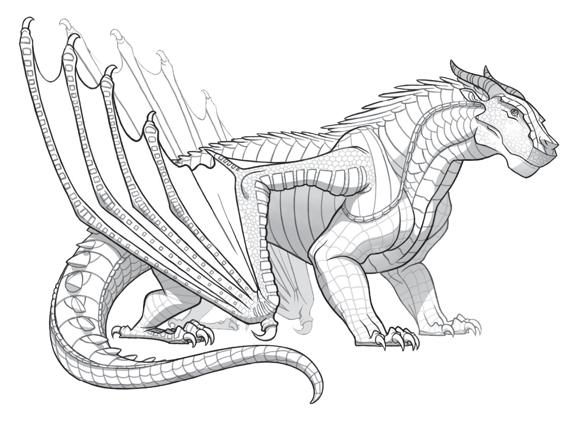 Wings of fire claythemudwing. Wing clipart animal wing