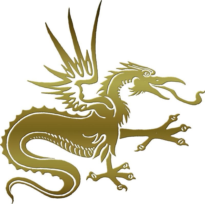 Clipart dragon yellow. Chinese by clipartcotttage on