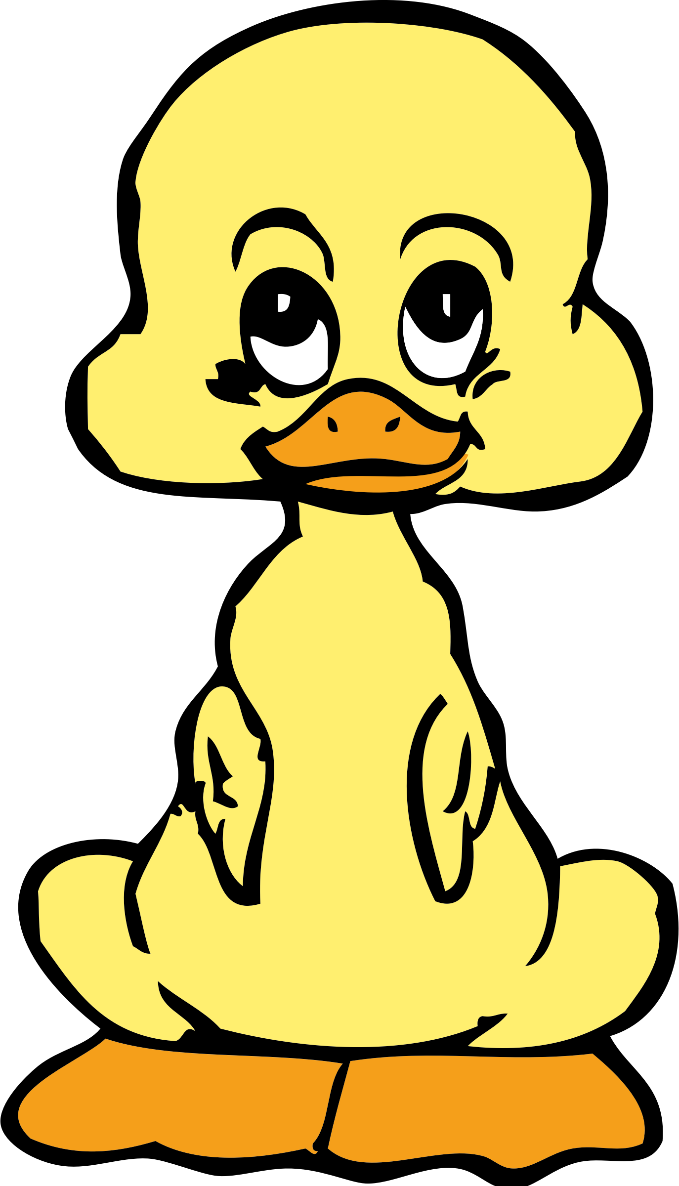 Draw clipart math. Baby duck big image