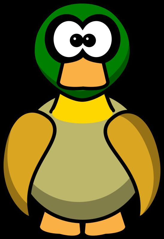 Duck cartoon duck