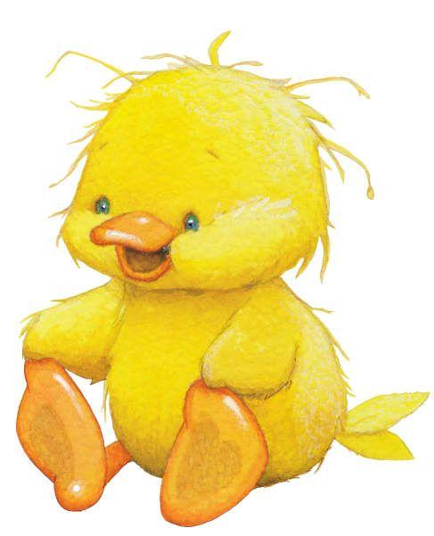 little baby clip. Clipart duck cute