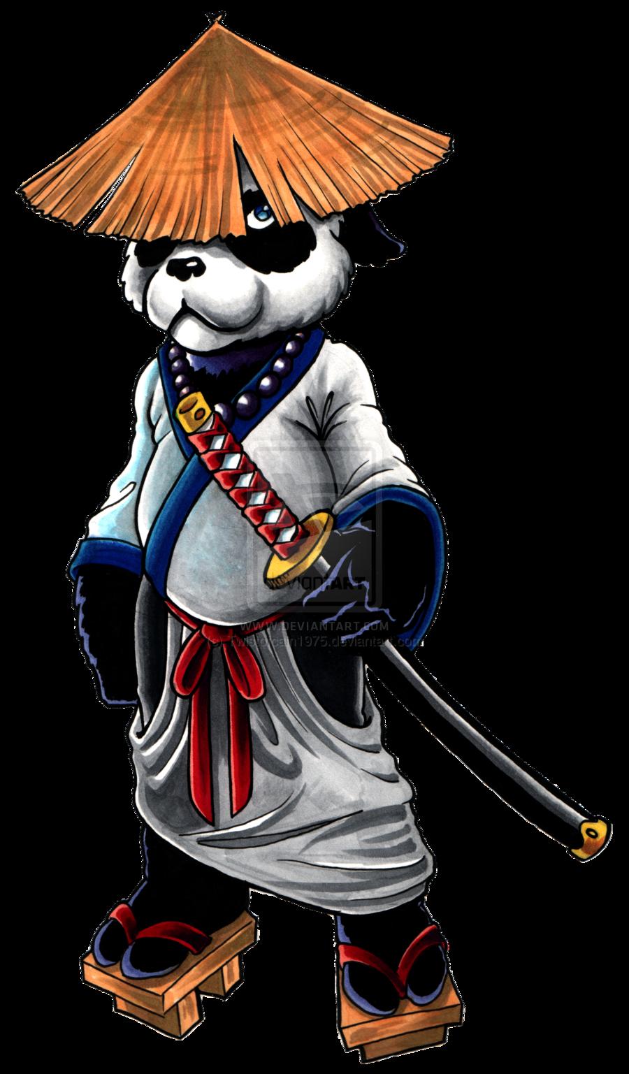 Ducks clipart duc. Samurai panda pandas pinterest