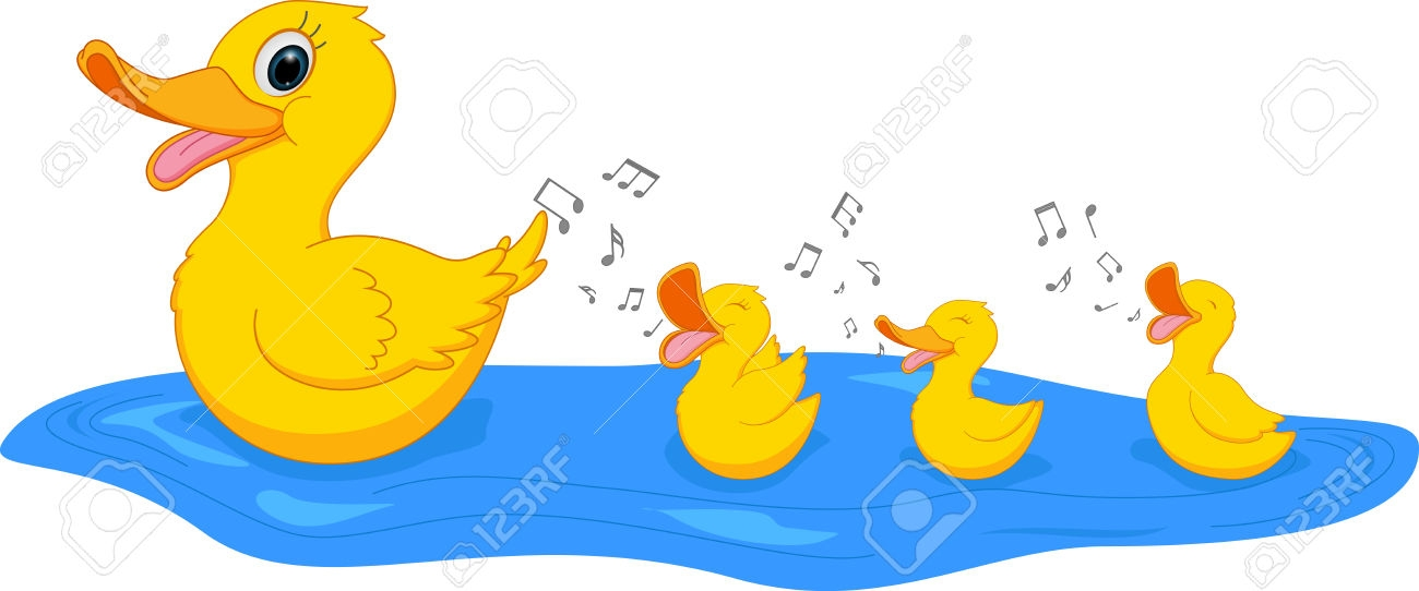 Duck and ducklings free. Ducks clipart duckling