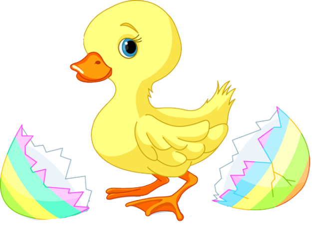 Ducks clipart easter. Word duck pencil and