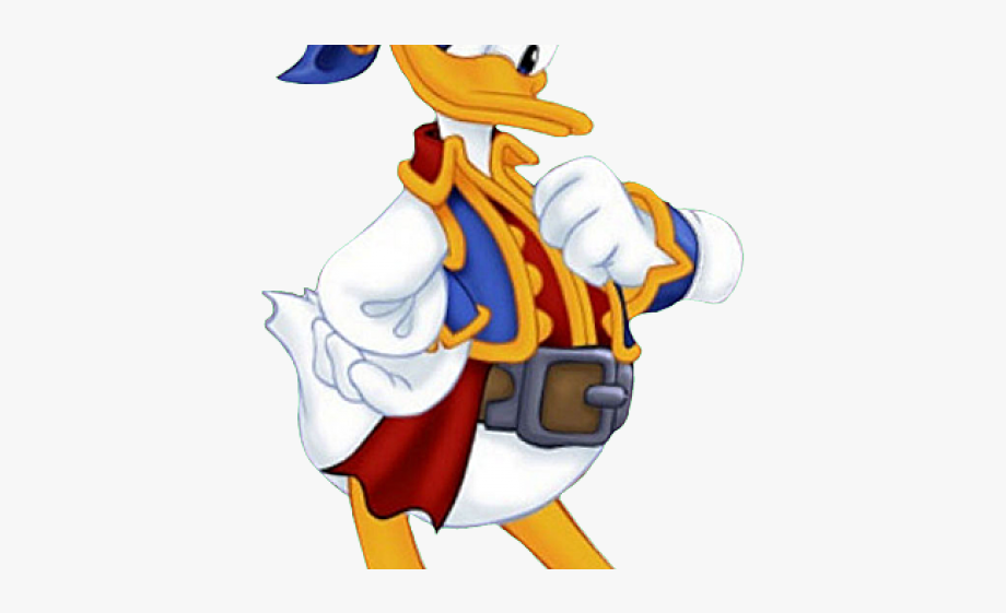 Donald free . Clipart duck pirate