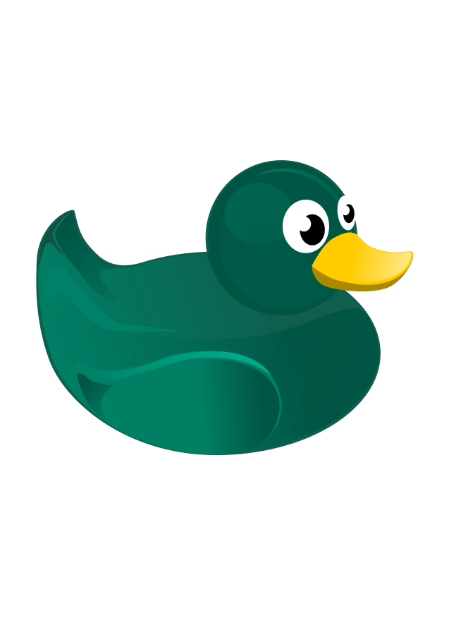 Duckling clipart duck tail. And ducklings free download